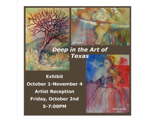 Old Bakery & Emporium presents Deep in the Art of Texas Reception