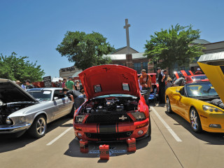 The Heights Baptist Church, car show