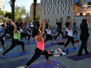 University Health System Fitness on the Plaza presents Yoga