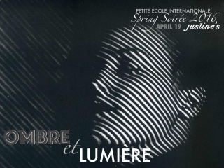 Petite Ecole Internationale Preschool presents Ombre et lumiere