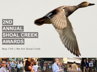 Shoal Creek Conservancy presents 2nd Annual Shoal Creek Awards