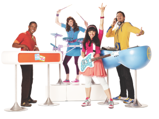 The Fresh Beat Band in concert