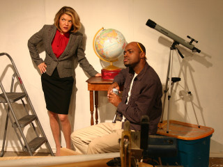 Melissa Hartman Couture and J.R. Bradford in Rocket Man