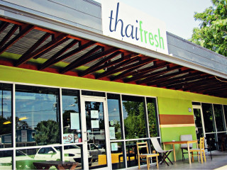 exterior to Thai Fresh restaurant