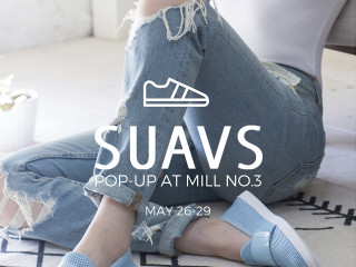 SUAVS Shoes Pop-up at Mill No. 3