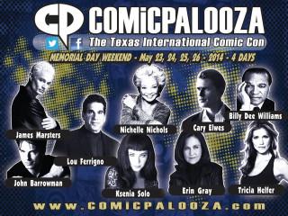 Comicpalooza 2014