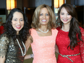 Judge Debra Mayfield, Dr. Melanie Brown, and Victoria Ai Linh