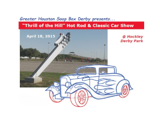 """Thrill of the Hill"" Hot Rod & Classic Car Show"