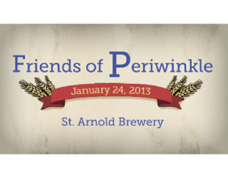 "Friends of Periwinkle's ""An Evening of Hops and Hamburgers"""