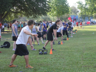 "Bayou City Crossfit presents ""Reps with the Rockets"""