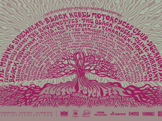 Poster for Austin Psych Fest 2013 lineup