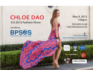 Chloe Dao Spring/Summer 2013 Fashion Show benefiting BPSOS-Houston