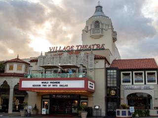 Highland Park Village theater
