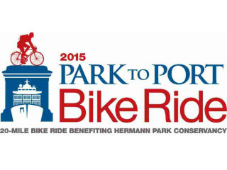 Hermann Park Conservancy Park to Port Bike Ride 2016