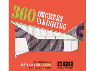Crowdfunding Social for Selven O'Keef Jarmon's 2014 Art League Houston Installation: 360 Degrees Vanishing