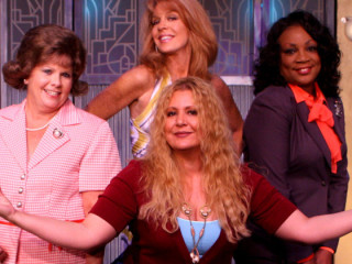 Actors from Menopause the Musical