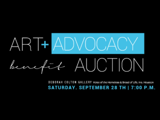 "Voice of the Homeless & Bread of Life host ""Art + Advocacy Benefit Auction"""