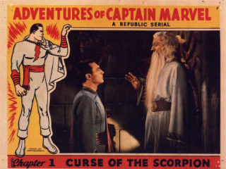 Sprocket Society poster for Adventures of Captain Marvel