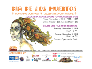 Meca Dia De Los Muertos Festival Event Culturemap Houston
