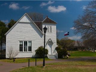 Pilot Grove Church at Dallas Heritage Village