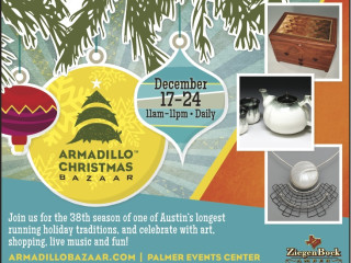 flyer for 2013 Armadillo Christmas Bazaar