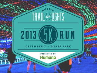 Trail of Lights 5K run and walk 2013