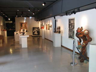 Austin Community College Art Gallery interior
