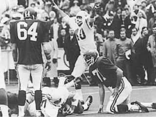 UT Longhorns vs. Arkansas Razorbacks for 1969 National Championship