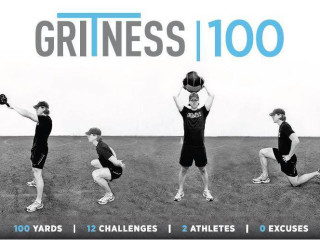 flyer for Gritness 100 fitness competition