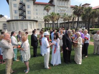 Hotel Galvez Wedding Vow Renewal Ceremony Event Culturemap Houston