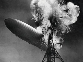 Hindenburg zeppelin crash disaster
