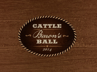 logo for the Austin Cattle Baron's Ball 2014