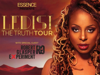 singer Ledisi for her Truth Tour poster