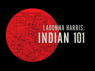 title screen of LaDonna Harris: Indian 101 documentary