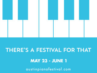 Austin Piano Festival logo for 2014