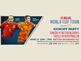 FC Dallas World Cup Tour kickoff party