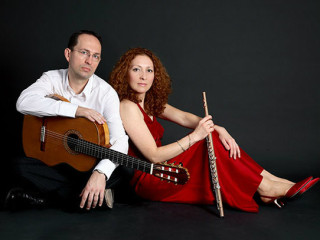 Denis Azabagic and Eugenia Moliner of Cavatina Duo