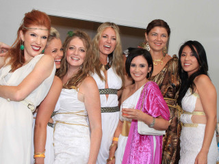"Bering Omega Young Professional Board hosts ""Toga Party"" 2014"