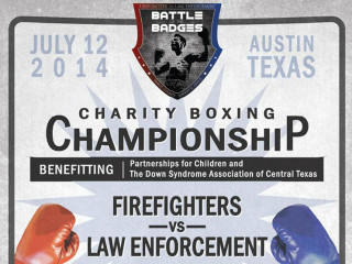 poster for 2014 austin Battle of the Badges