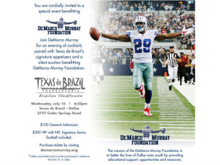 Evening with DeMarco Murray