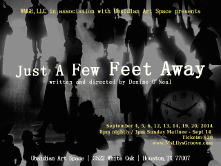 WMGE presents Just A Few Feet Away by Denise O'Neal