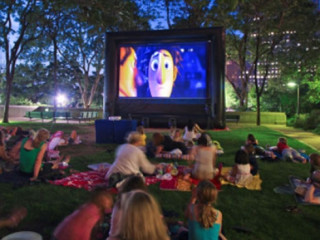 Friday Flicks on The Lawn at GreenStreet