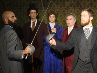 Rover Dramawerks presents Sherlock Holmes and the Case of the Jersey Lily