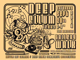 Deep Ellum 2014 Fall Gallery Walk