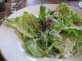 Ruthie Pizzeria Solario April 2013 Caesar Salad