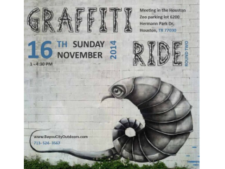 "Bayou City Outdoors hosts ""Graffiti Ride - Round Two"""