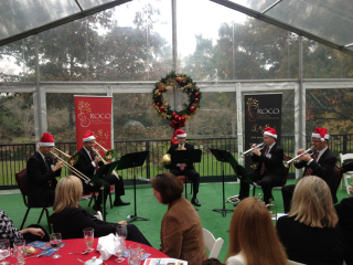 "River Oaks Chamber Orchestra ROCO Brass Quintet presents ""Yuletide Concert"""