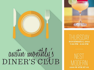Austin Monthly Diner's Club November 2014