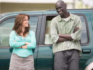 Reese Witherspoon and Ger Duany in The Good Lie