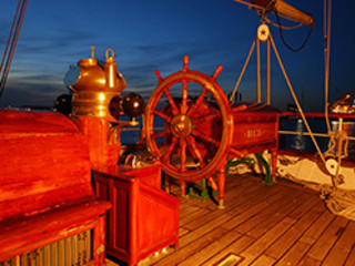 41st Annual Dickens on the Strand: Salute to Sunset Onboard Tall Ship Elissa